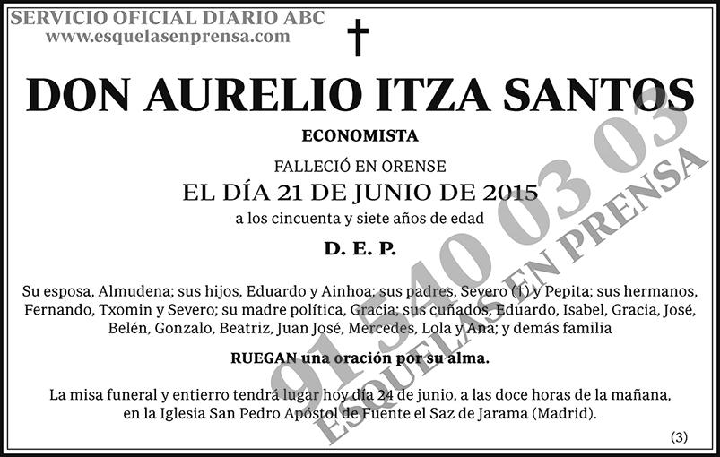 Aurelio Itza Santos